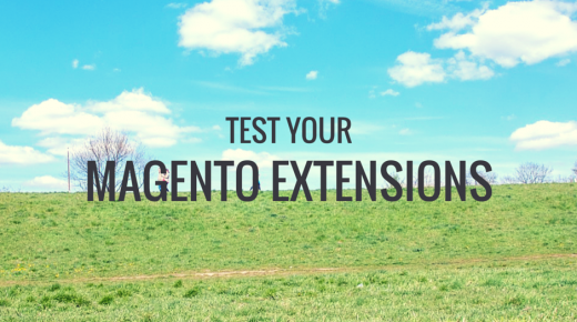 Extension developers, test your extensions
